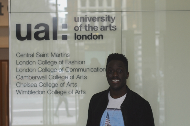 Ayo Akinwolere at UAL