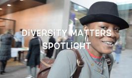 Diversity Matters Spotlight ©Kai Lutterodt